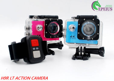 China 1080p 60fps Underwater Action Camera ,  2.4G H9RLT 4k Ultra Hd Action Camera distributor