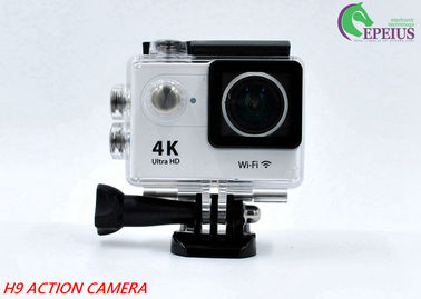 "China 170D Lens Waterproof Action Camera H9 WiFi 4K 2""LCD High Speed Sport Camcorder distributor"