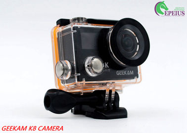 China Compact 2 Inch Dual Screen 4k Waterproof Action Video Camera K8 360VR 170 Degree distributor