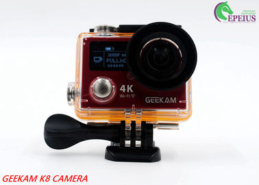 China 2.4G Remote VR 360 Panoramic Video CameraK8R 170° Angle With Dual Screen distributor