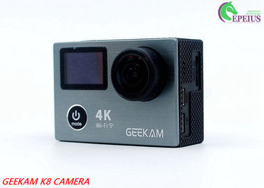 China Underwater 30M HDMI 4k Sports Action Camera K8 Wifi 1080P 120fps With Dual Display distributor