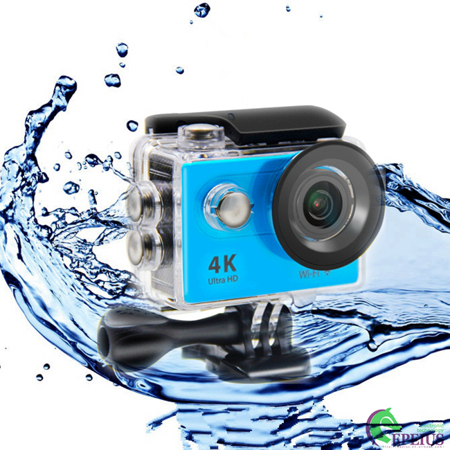 4K Hd 1080p Action Sports Camera Wifi , H9LT High Speed Action Camera With Full Accessories