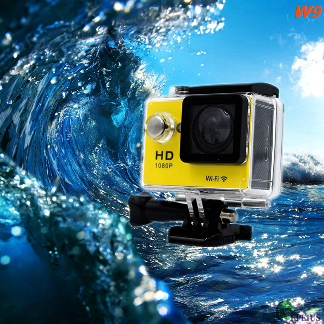 "2.0"" Display 4k Ultra Hd Sports Camera , 12MP 30M Origial EKEN Action Camera"