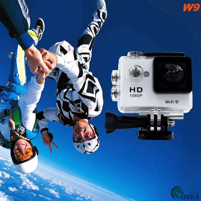 4K 10fps Mini Full HD Waterproof Action Camera EKEN W9 Smart View H.264