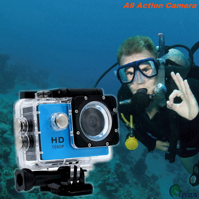 30M Waterproof A9 Full Hd Extreme Sports Action Camera No Wifi Mini Sj4000