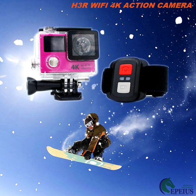 Colorful Eken H3R 1080P HD Action Camera 4k 25fps Dual Screen WIFI Helmet Cam