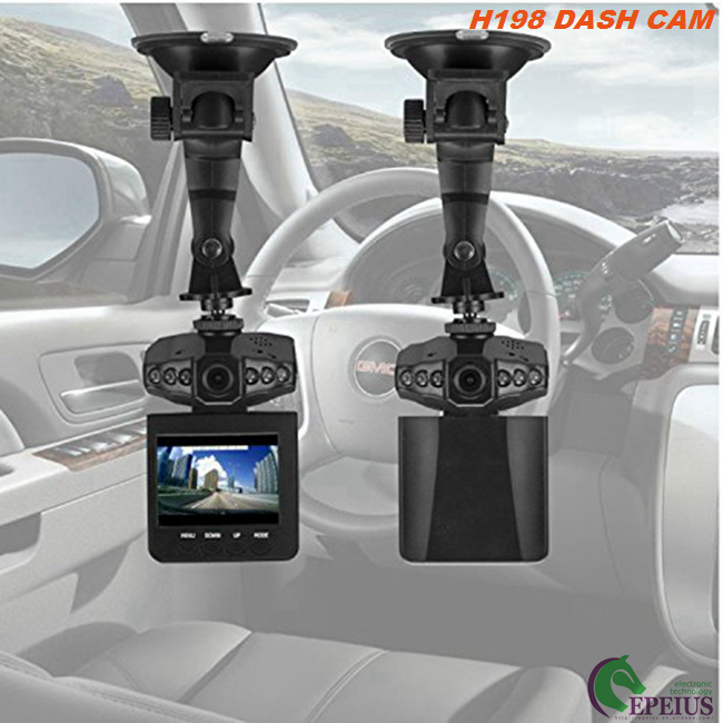 Cycle Recording Car Dvr Camera VGA / QVGA With Rechargeable Lithium Battery