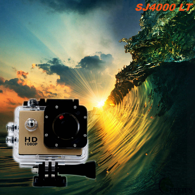 Golden Full HD 720P Waterproof Sports Action Camera With 1.3 Mega Pixel HD CMOS Sensor