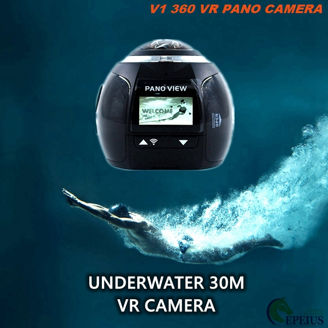 Mini Wifi Ultra Sports Cam Waterproof Full Hd 1080p For Bicycle / Car DVR / Home Security