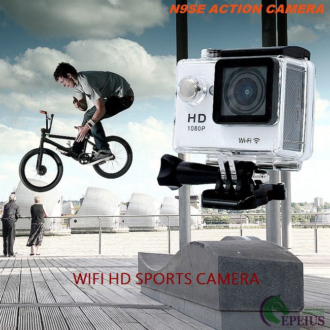 "Outdoor Hd Sports Action Camera , Full HD 2"" Screen Hd Action Video Camera"