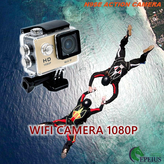 Mini N9SE Waterproof Hd Sports Camera , 140D Extreme Adventure Hd Action Sports Camera