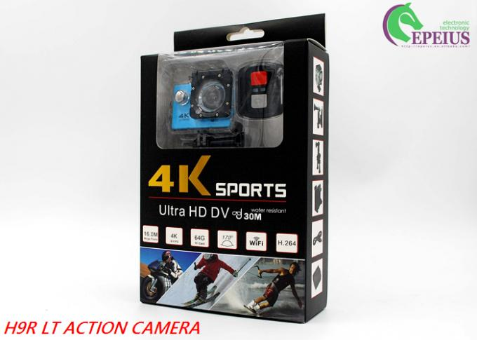 140 Degree Full Hd 1080p Wifi Action Camera With Single / Continuous Shooting Mode