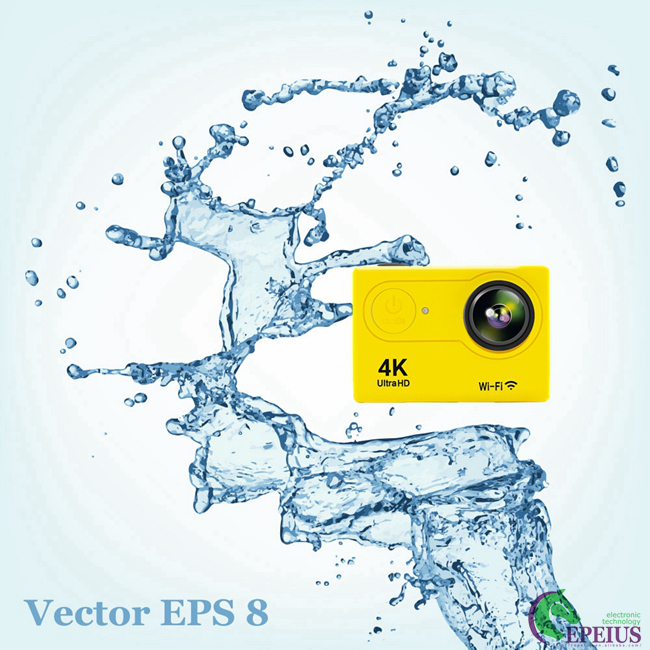 "H9 WiFi Waterproof 30M 1080P HD Action Camera 2.0"" LCD OV4689 170Degree Sports DV"