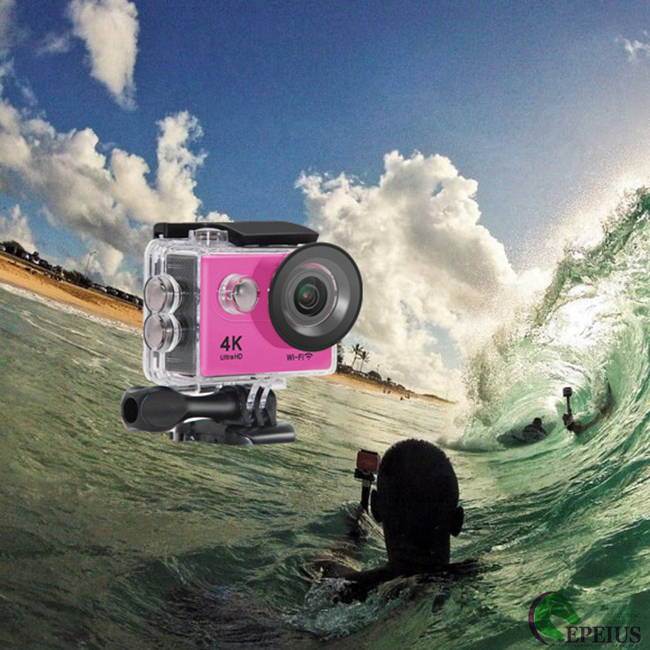 "12MP H9 WiFi 4k Sports Action Camera 2"" LCD 1080P 60FPS / 720P 120FPS"